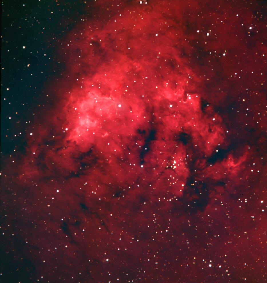 CED 214 Emission Nebula in Cepheus