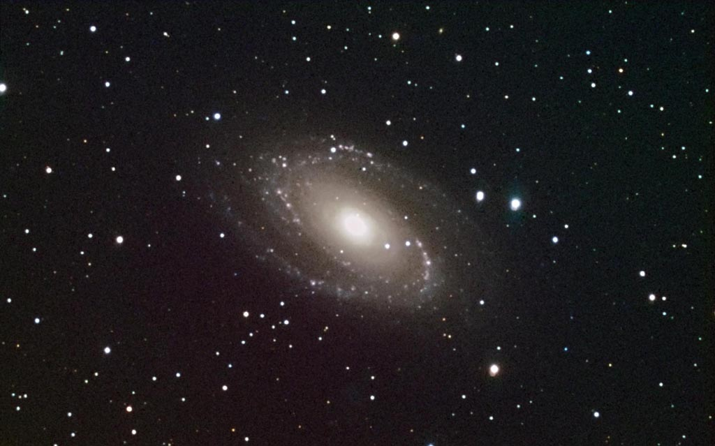 M81 with Extra Galactic Hydrogen Emission Nebulae
