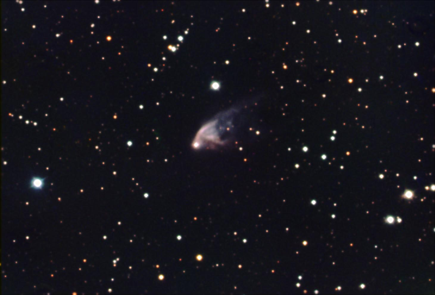 NGC2261 Hubble's Variable Nebula in RGB